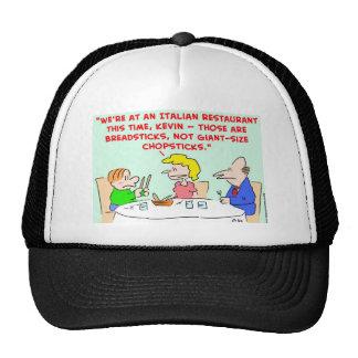 BREADSTICKS, CHOPSTICKS HAT