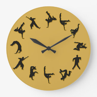 Break Dance Clock