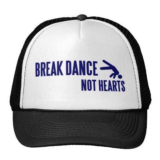 Break Dance Not Hearts Mesh Hat