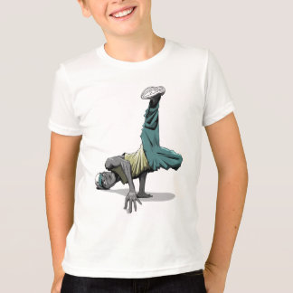 break dance pose 1 kids T-Shirt