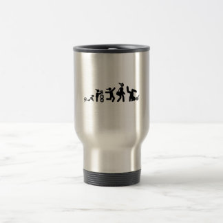 Break Dance Stainless Steel Travel Mug