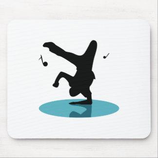 Break Dancer Mouse Pad