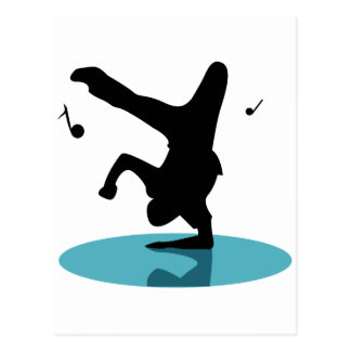Break Dancer Postcard