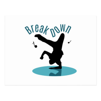 Break Down Postcard