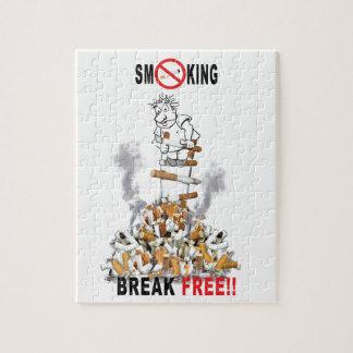 Break Free - Stop Smoking Jigsaw Puzzle