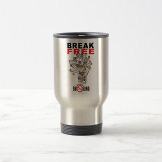 BREAK FREE - Stop Smoking Travel Mug