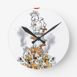 Break Free - Stop Smoking Wallclock