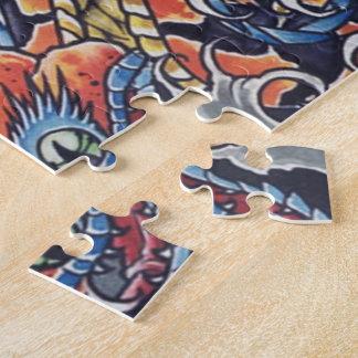 """Break-head """"Skulls tatto """" Puzzles"""