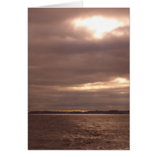 Break in the Clouds, Streams of Light CricketDiane Greeting Cards