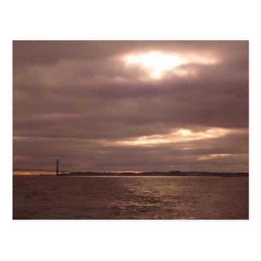Break in the Clouds, Streams of Light CricketDiane Postcard