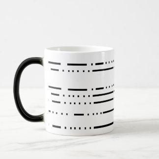 Break Lines Magic Mug