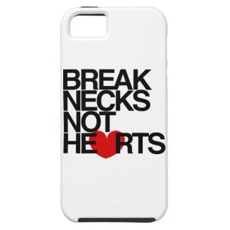 Break Necks Not Hearts by AiReal Apparel iPhone 5 Cover