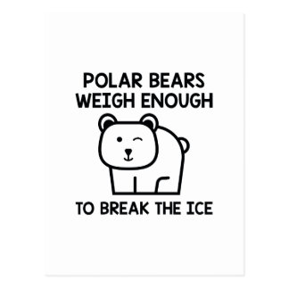Break The Ice Postcard
