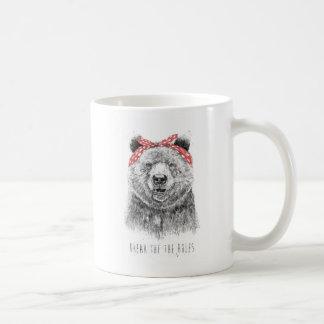 Break the rules coffee mug