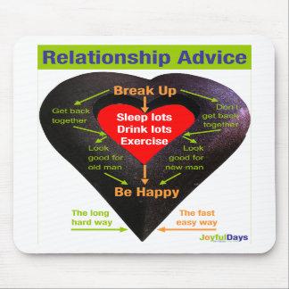 Break Up Advice Mousepad