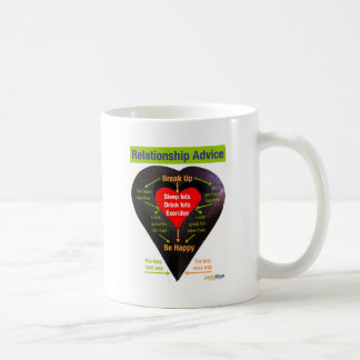 Break Up Advice Coffee Mugs