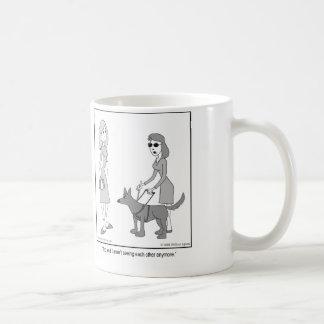 Break Up Basic White Mug