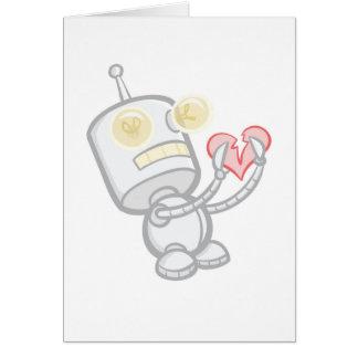 Break-up Bot 2000 Greeting Card