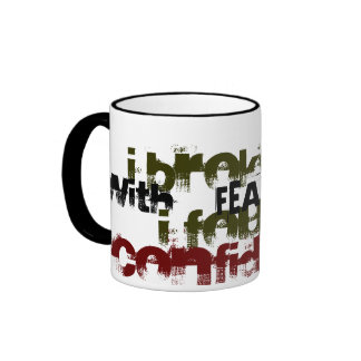 Break up mug