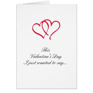 Break Up Valentine Greeting Card