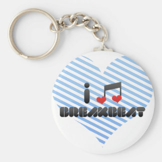 Breakbeat fan key ring