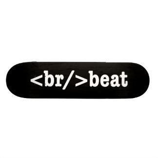 breakbeat HTML Custom Skateboard