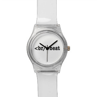 breakbeat HTML Wrist Watch