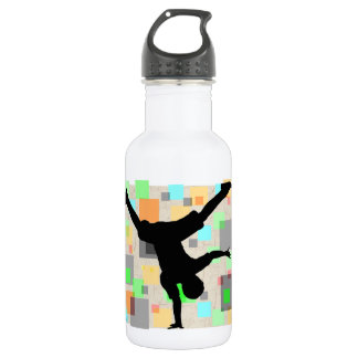 Breakdance 32 oz. 532 ml water bottle