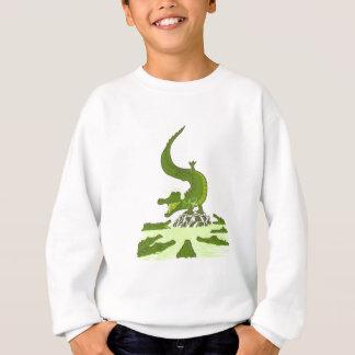 Breakdance crocodile sweatshirt
