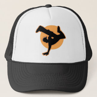 Breakdance flava trucker hat