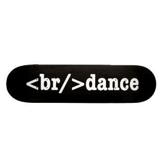 breakdance HTML Skate Board