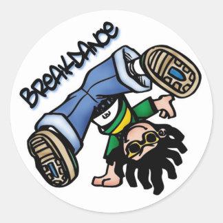 Breakdance stickers