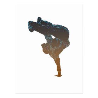 Breakdancer Post Cards
