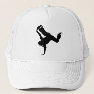 breakdancer trucker hat