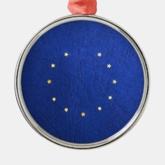 Breakdown Brexit Britain British Economy Eu Euro Metal Ornament