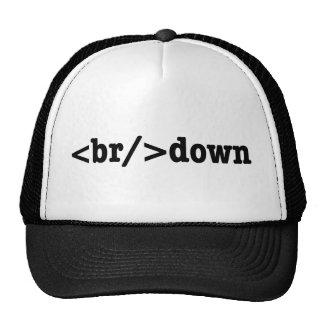 breakdown HTML Code Cap
