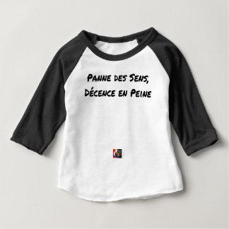 BREAKDOWN OF SENS, DECENCY IN SORROW - Word games Baby T-Shirt
