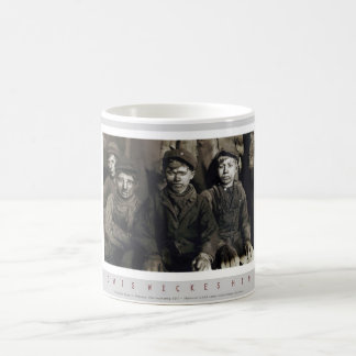 Breaker Boys in Pittston, Pennsylvania Coffee Mug
