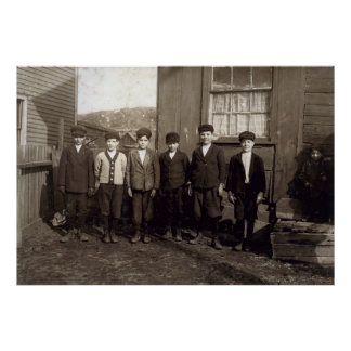 Breaker Boys - Pittston Pennsylvania Print