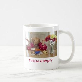 Breakfast at Ginger's mug
