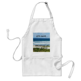 BREAKFAST AT THE BEACH APRON