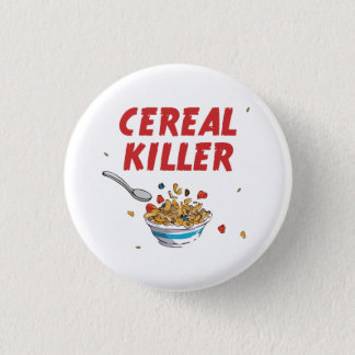 Breakfast Cereal Killer 3 Cm Round Badge