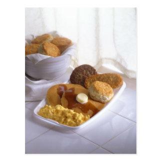 Breakfast combo postcard