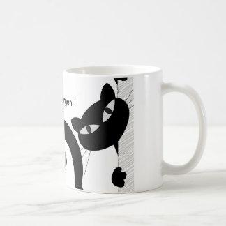 "Breakfast cup of ""good mornings"" with logo mug"