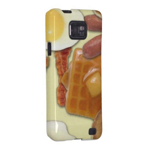 Breakfast Foods Samsung Galaxy Cases