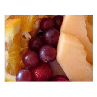 Breakfast Fruit Postcard