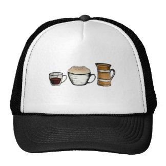 Breakfast, lunch & dinner hats