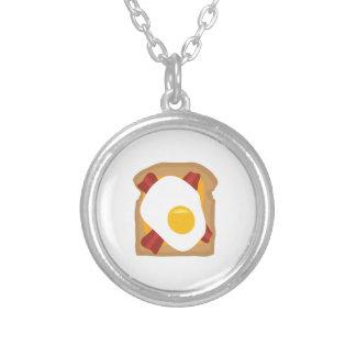 Breakfast Round Pendant Necklace