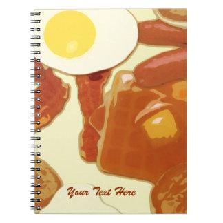 Breakfast Personalized Notebook