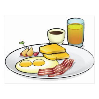 Breakfast Postcard